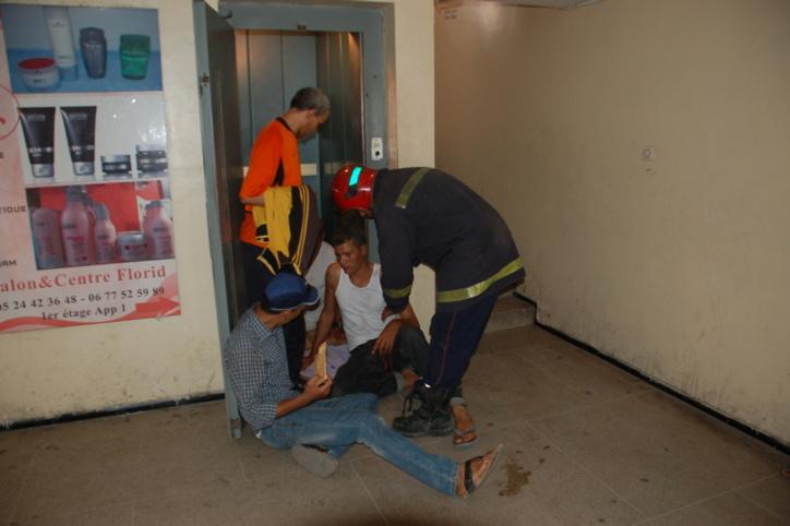 توقف مصعد بعمارة لحباس بباب دكالة كاد يتسبب في كارثة