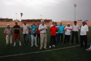 احمد البهجة يقود فريق اولمبيك مراكش