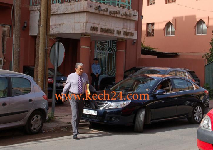 عمدة مراكش السابق ينفي مقاضاته لمنير الماجيدي