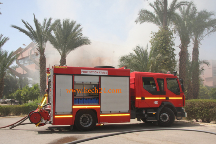 فضيحة: حريق بمستشفى محمد ابن عبد الله بالصويرة