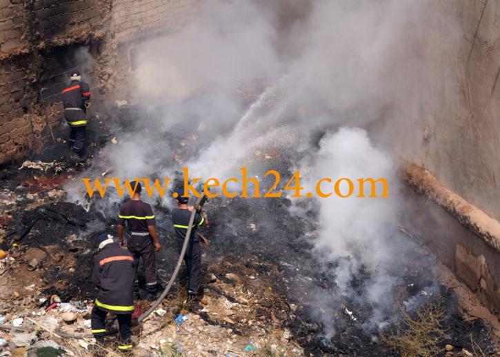 الحرارة بمراكش تسبب في حريق فندق السرسار