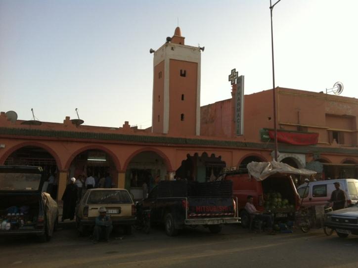سرقة مسجد بسيدي المختار