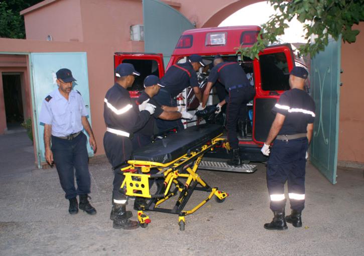 الحصيلة الأولية لحادثة سير زرقطن 42 قتيل و25 جريح