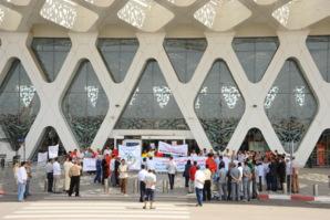 عاجل: حالة استنفار بمطار مراكش لمنارة وسبع طائرات بقيت عالقة في السماء