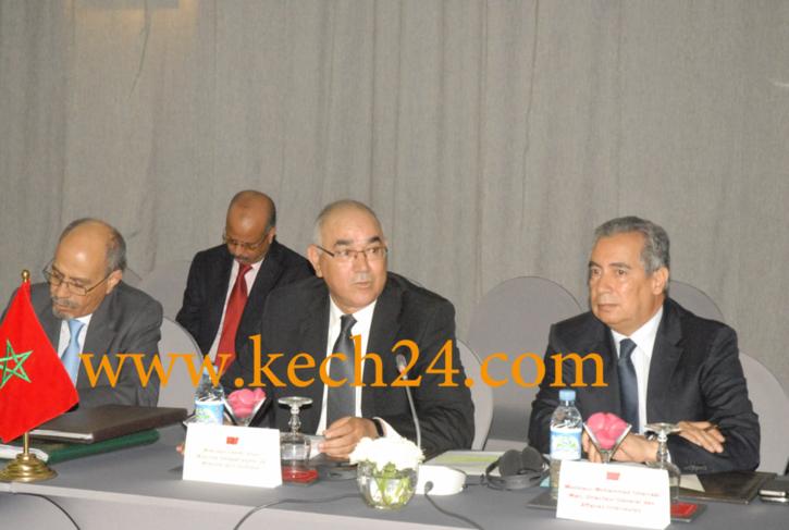 سري للغاية: الشرقي الضريس يجتمع برؤساء المصالح الأمنية بمراكش استعدادا للزيارة الملكية