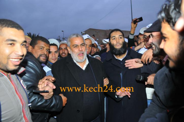 عبد الاله بنكيران يدشن حملة احمد المتصدق مرشح حزب المصباح للانتخابات البرلمانية الجزئية