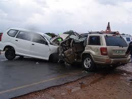 حادثة سير خطيرة بين سيارتين، قرب حي رياض السلام بطريق الدارالبيضاء