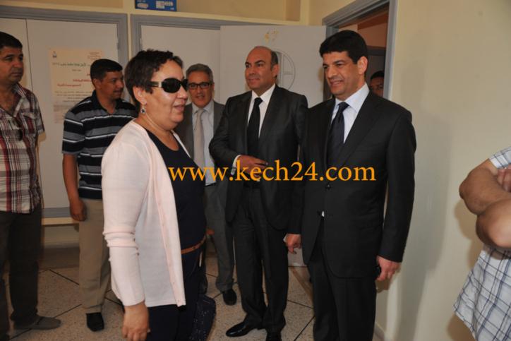 مصطفى الباكوري يحل بمراكش لدعم زكية لمريني مرشحة حزب التراكتور