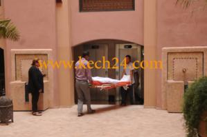 عاجل : وفاة غامضة لفتاة سقطت من الطابق الثاني لعمارة بتجزئة البهجة بحي دوار العسكر