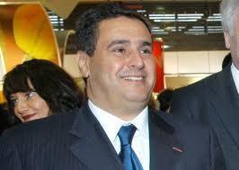 عزيز اخنوش وزير الفلاحة والصيد البحري يزور بن جرير استعدادا للزيارة الملكية