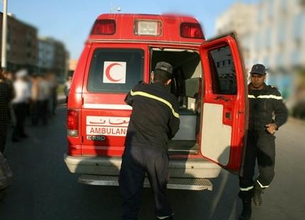 حادثة سير بين مراكش والشويطر