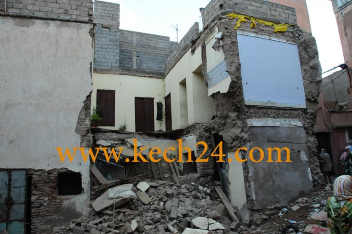 انهيار منزل بحي الحارة يشعل حالة من الرعب وسط سكان درب سوس