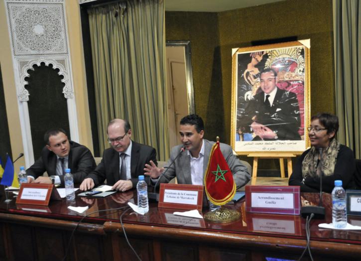 سفير أوكرانيا بالمغرب يدعوا من مراكش الى تطوير العلاقات التجارية المباشرة بين المغرب وأوكرانيا