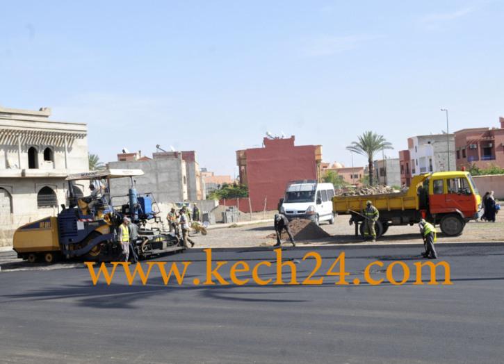 أوراش ظرفية لتغطية واقع مزري بفضاءات مراكش