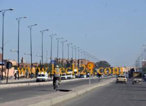 أشغال توسيع شارع الحسن الثاني تتسبب في خمس حوادث في اقل من 24 ساعة