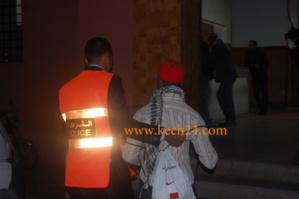 سارق المنازل والمتاجر بالمحاميد أمام العدالة بمراكش