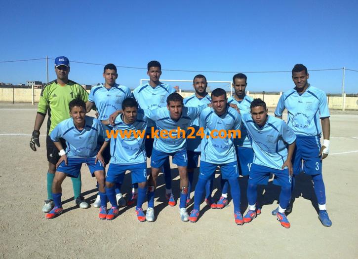 أول إنتصار لفريق شباب سيدي المختار في بطولة عصبة الجنوب لكرة القدم.
