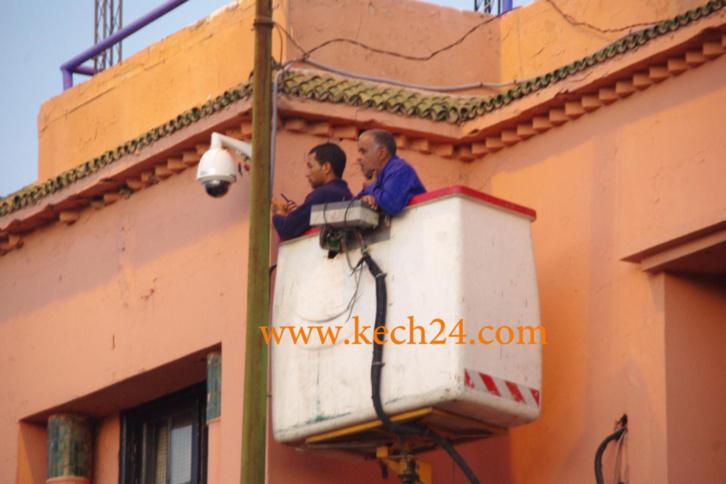 استعدادات أمنية كبيرة لاستقبال ضيوف مراكش خلال عطلة نهاية السنة