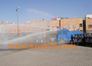 عاجل : تجدد المناوشات بين بعض سكان سيدي يوسف بن علي والقوات العمومية