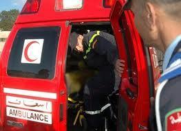 حادثة سير خطيرة بطريق لمحاميد وإصابة شخص بجروح خطيرة