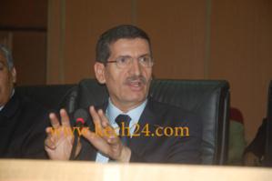 والي الجهة محمد فوزي يجتمع مع اعضاء مجلس مقاطعة لمنارة لحل بعض مشاكل الساكنة