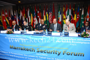 افتتاح أشغال المنتدى الدولي الرابع للأمن بإفريقيا بمراكش