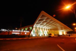 ارتفاع بحوالي 2 في المائة في عدد المسافرين الذين استعملوا مطار مراكش المنارة خلال دجنبر الماضي