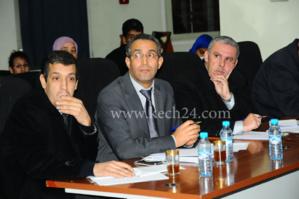سري للغاية : مصطفى الهبطي مدير الراديما يجتمع سرا بوزير الوظيفة العمومية عبد العظيم الگروج