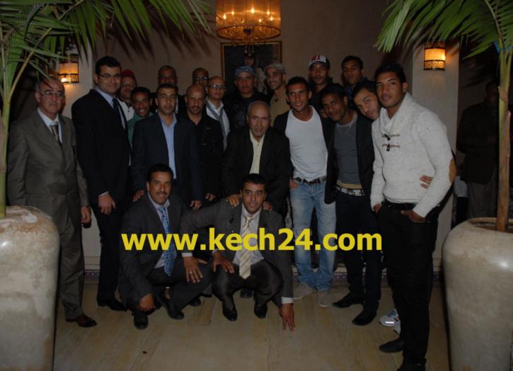 عمدة مراكش تقيم حفل عشاء على شرف الفرق الوطنية