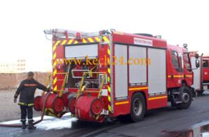 عاجل : حريق بعمارة الدالية بحي امرشيش يأتي على شقتين بالكامل