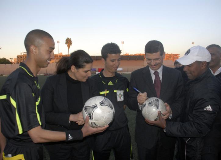 فريق درب البومبا باب دكالة يفوز بدوري كأس المدينة في كرة القدم