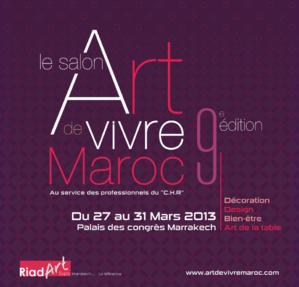 مراكش تحتضن مابين 27 و31 مارس المقبل الدورة التاسعة للمعرض المهني فن العيش المغربي