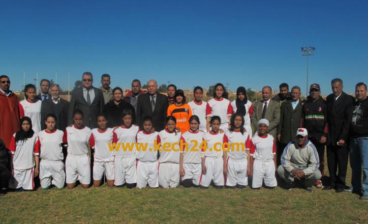 إنطلاق دوري كرة القدم النسوية بمراكش