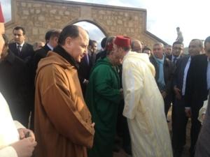 الهمة يتقدم المعزين في وفاة الراحل محمد المؤذن.وموكب جنائزي غير مسبوق بقلعة السراغنة