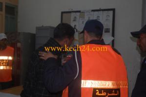 المجرم الخطير الذي روع سكان لمحاميد، في قبضة الشرطة القضائية بمراكش