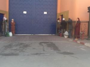 حالة استفار امني خلال ترحيل 500 سجين من بولمهارز الى سجن لوداية بمراكش