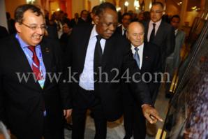إعادة انتخاب الكاميروني عيسى حياتو بالإجماع رئيسا للكونفدرالية الافريقية لولاية جديدة (2013-2017)