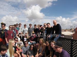 وفد طلابي من الدانماراك يزور مراكش للاطلاع على حرية التعبير والإصلاحات الدستورية بالمغرب