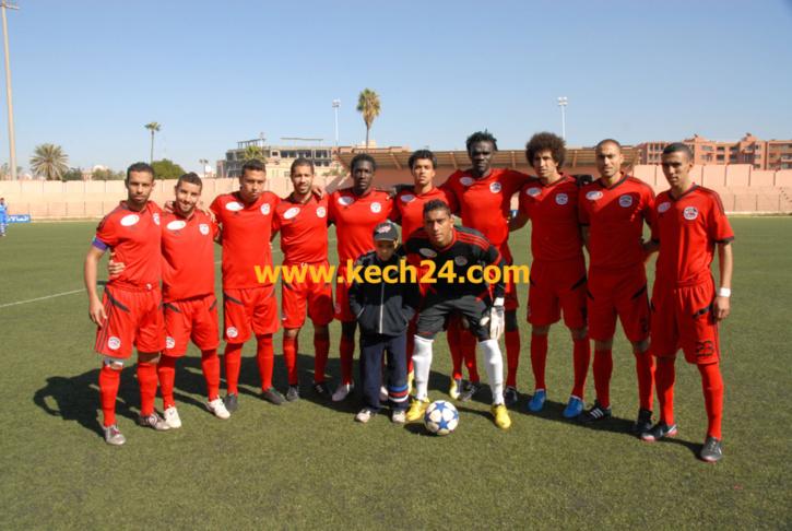 لاعبوا أولمبيك مراكش يتعرضون للسرقة بالحارثي