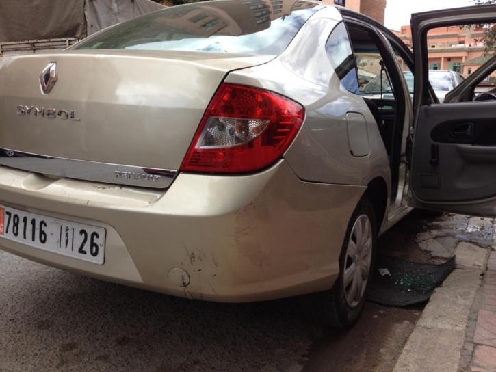 سرقة سيارة في ملكية وكالة لكراء السيارت + صور حصرية