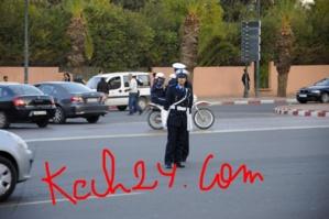 خاص : البوليسيات من جديد بمدارات مدينة مراكش
