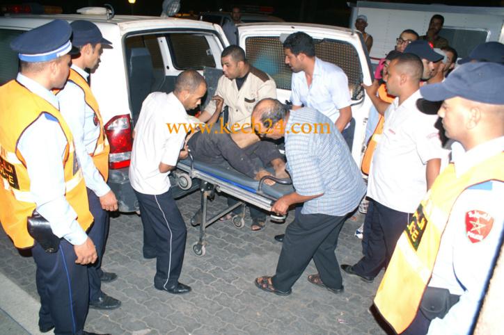 مصرعين شخصين وإصابة آخرين في حادثة سير خطيرة نواحي أيت اورير
