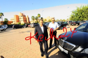 حميد شباط يختلي بوزراء حزبه في مدينة مراكش