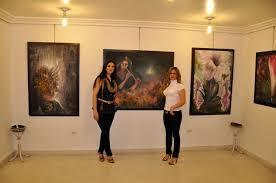 الفنانة التشكيلية وفاء ياسمين بن ساسي تعرض آخر أعمالها الفنية بمراكش