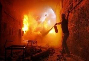 خطير : إشتعال النيران بمحطتين لتحويل الكهرباء بأيت أورير في أقل من 24 ساعة