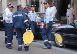 عناصر الشرطة الإدارية ينتفضون ضد شركة