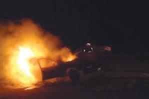 ويستمر مسلسل الحرائق بمراكش، النيران تلتهم سيارة بحي سيدي يوسف بن علي
