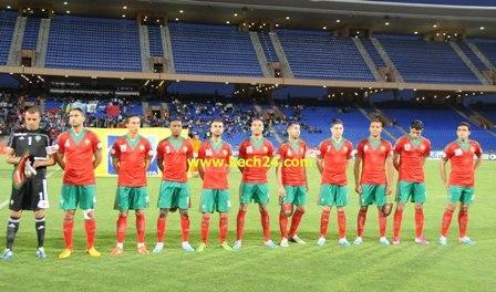 المنتخب المغربي يحقق فوزا متواضعا بمراكش