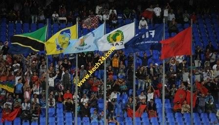 مشجع مغربي يتعرض لإصابة بملعب مراكش الكبير