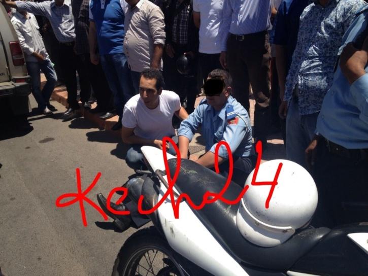 عاجل : مطاردة هوليودية لعناصر الامن تنتهي باعتقال مجرمين روعا سياح مراكش
